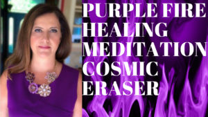 Jen's ZEN Energy Hack Using The Violet Flame For Healing