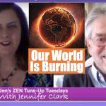 Jennifer Clark our world is burning Ian prattis