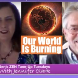 Jennifer Clark our world is burning Ian prattis