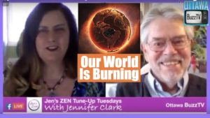 Jennifer Clark: Our World Is Burning With Ian Prattis